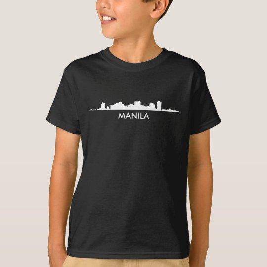 Skyline Manilas Philippinen T-Shirt