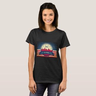 Skyline Miamis Florida T-Shirt