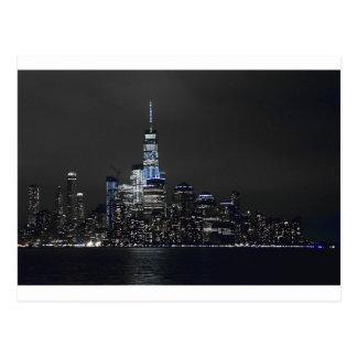 Skyline New- YorkSkyline-New York City New York Postkarte