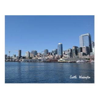 Skyline-Postkarte Seattles Washington Postkarte