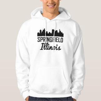 Skyline Springfields Illinois Hoodie