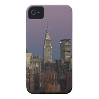Skyline-Stadt Manhattan New York iPhone 4 Case-Mate Hülle