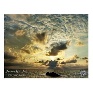 Skywars durch das Meer! Postkarte
