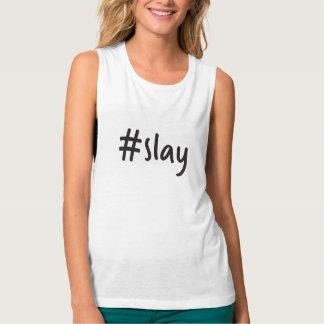 #slay Muskelunterhemd Tank Top