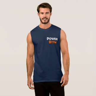 Sleeveless T - Shirt der Power-der untere