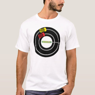 SlotCar, das T-Shirt läuft