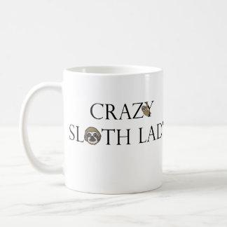 Sloth-Dame Mug Kaffeetasse