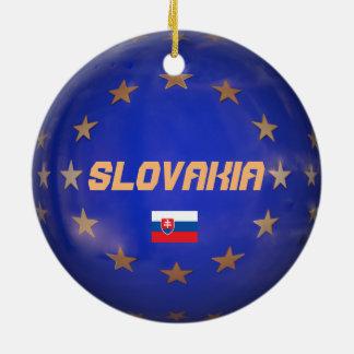 Slowakei E.U. Christmas Ornament