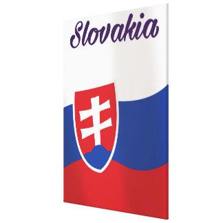 Slowakei-Ferienreiseplakat Leinwanddruck