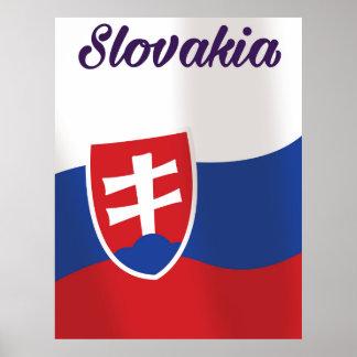 Slowakei-Ferienreiseplakat Poster