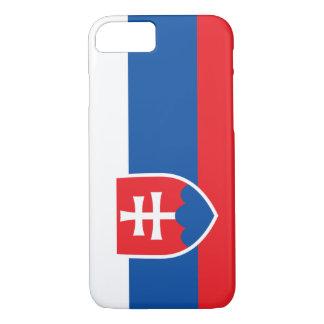 Slowakei-Flagge iPhone 8/7 Hülle