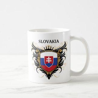 Slowakei [personifizieren Sie] Kaffeetasse