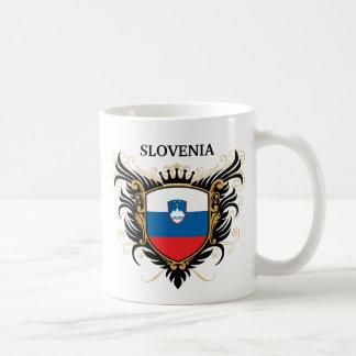 Slowenien [personifizieren Sie] Kaffeetasse