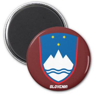 Slowenien-Wappen Magneten Runder Magnet 5,1 Cm