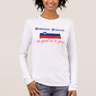 Slowenisch Prinzessin-Gutes wie Langarm T-Shirt
