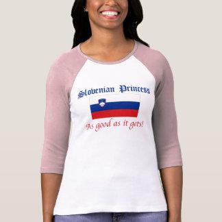 Slowenisch Prinzessin-Gutes wie T-Shirt