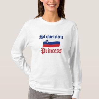 Slowenisch Prinzessin T-Shirt