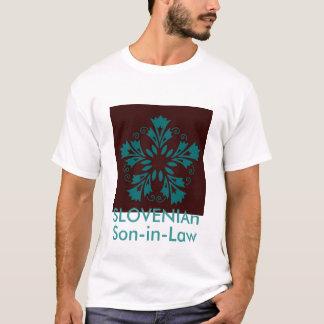 Slowenisch Schwiegersohn T-Shirt