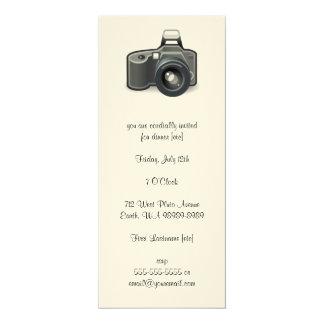 SLR-Kamera 10,2 X 23,5 Cm Einladungskarte