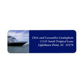 Slwwk Kreuzfahrt-Schiffs-Bogen personalisiert