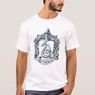 Slytherin Wappen-Blau T-Shirt