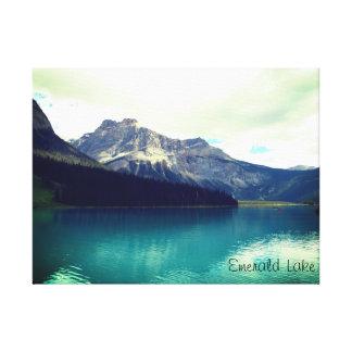 Smaragdsee, Banff, Kanada Leinwanddruck