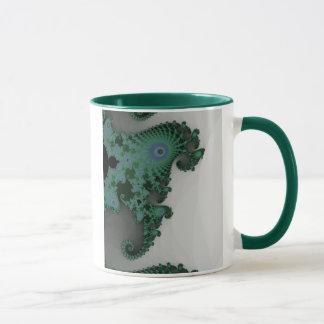 SmaragdSeepferd-Tasse Tasse