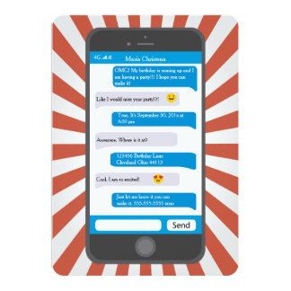 Smartphone jugendlich Emoji simsen Karte