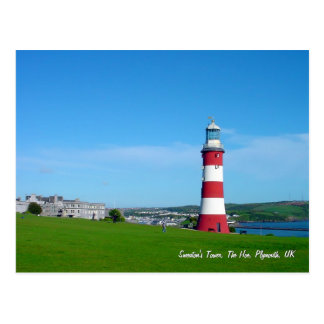Smeatons Turm, die Hacke, Plymouth Postkarte