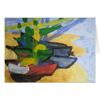 """Smeraldo Galerie """"Fischerboote """" Karte"""