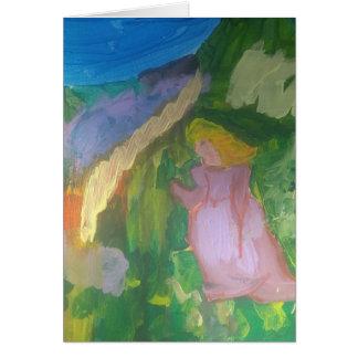 "Smeraldo Galerie"" Mademoiselle Gachet im Garten Karte"