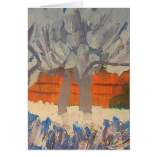 "Smeraldo Galerie ""Rosa-Pfirsich-Bäume "" Karte"