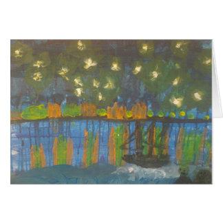 """Smeraldo Galerie """" sternenklare Nacht auf der Karte"""