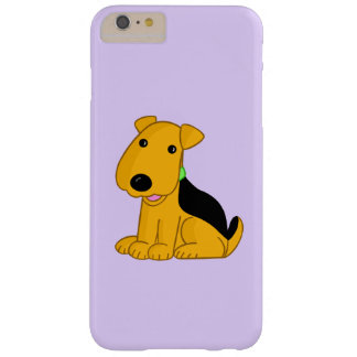 Smiley-Airedale Terrier iPhone 6/6s plus Fall Barely There iPhone 6 Plus Hülle