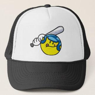 Smiley-Baseball Truckerkappe