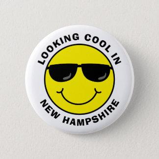 Smiley, der in Ihrem Staat cool schaut Runder Button 5,7 Cm