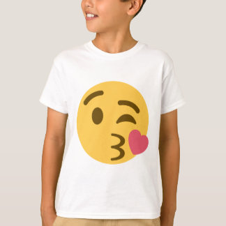 Smiley Kiss Emoji T-Shirt