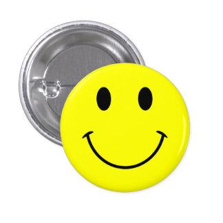 Smiley-Knopf Runder Button 3,2 Cm