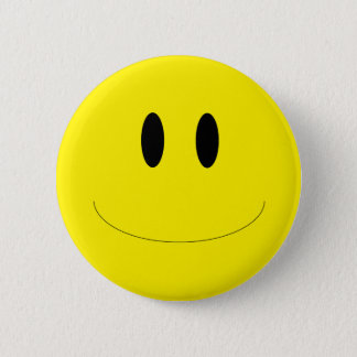 Smiley-Knöpfe Runder Button 5,1 Cm