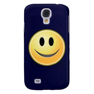 Smiley (Marine-Blau) Galaxy S4 Hülle