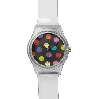 Smiley - mehrfarbig armbanduhr
