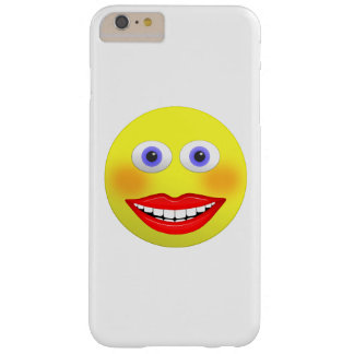 Smiley mit großem Lächeln iPhone 6/6s plus Fall Barely There iPhone 6 Plus Hülle