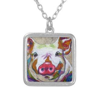 Smiley-Piggy Halskette