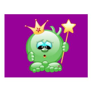 Smiley-Prinz Postkarte