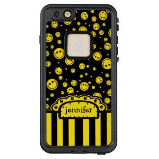 Smiley-Punkt-Namen-Schablone LifeProof FRÄ' iPhone 6/6s Plus Hülle