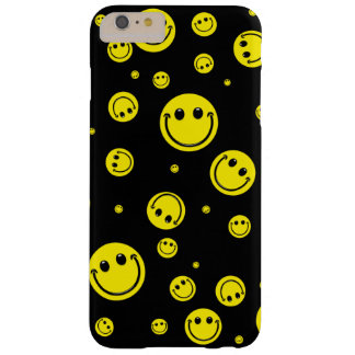 Smiley-Tupfen Barely There iPhone 6 Plus Hülle