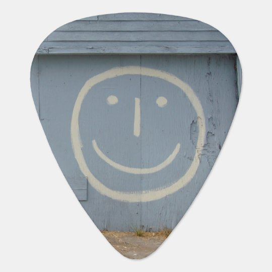 Smileygraffiti-Kunst Plektron