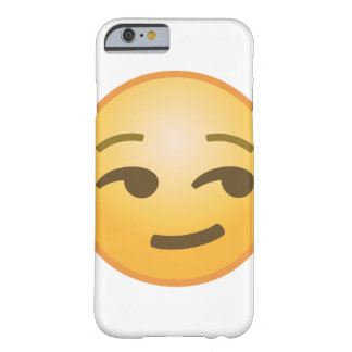 Smirking Emoji Barely There iPhone 6 Hülle