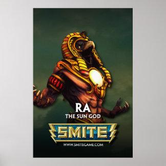 SMITE Ra The Sun-Gott Posterdruck