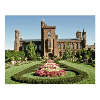 Smithsonian-Institut und Enid Haupt Garten Postkarte
